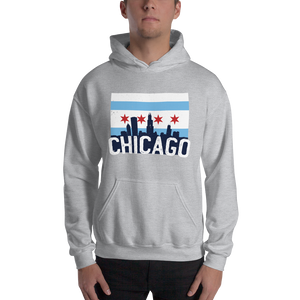 Chicago Hoodie unique Skyline