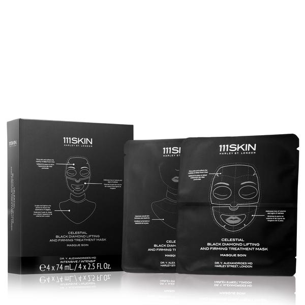 111Skin Celestial Black Diamond Lifting and Firming Treatment Mask (1 single)