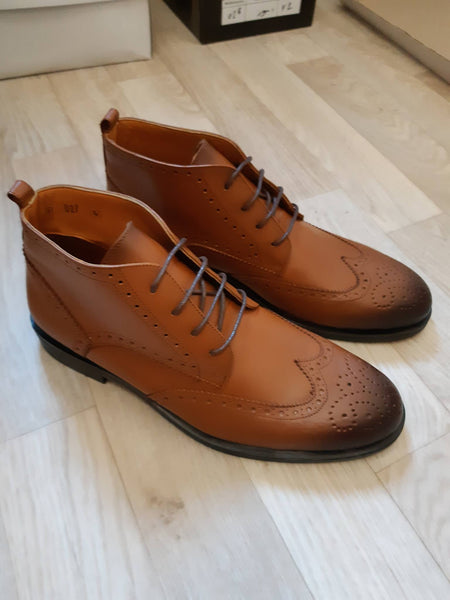 Botte 27 Marron Homme Cuir