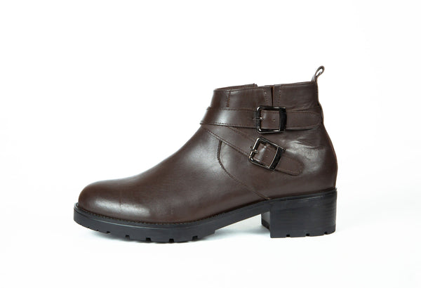 Botte Marron 110 Cuir