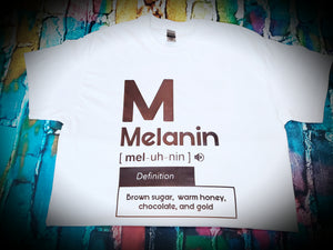 Melanin By Definition T-shirt