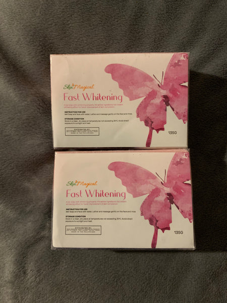 Skin Magical Fast Whitening soap 2pcs(135g Each)