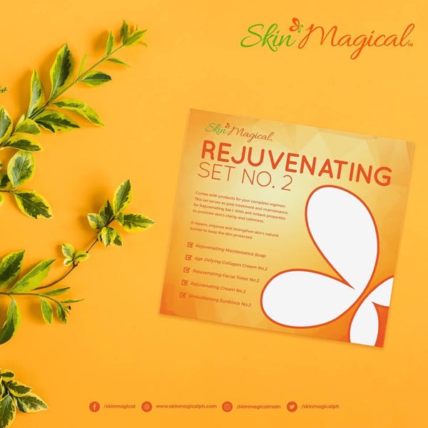 Skin Magical Rejuvenating Skin Care Set #2 -Maintenance Set Kadenang Ginto