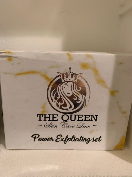 The Queen Power Exfoliating Set