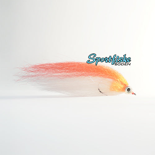 Pike Fly Baitfish - Red White