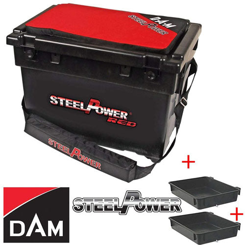 Steel Power Red Beach Box