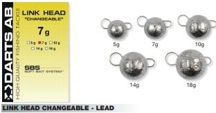 Texas, Carolina & Dropshot - LINK HEAD CHANGEABLE - LEAD