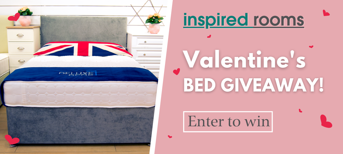 Inspired Rooms Valentine's Bed Giveaway