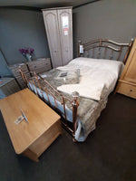 Romilly Metal Bedstead - Inspired Rooms Furniture Superstore