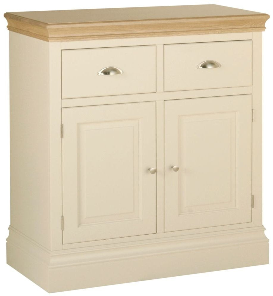 Cassis Painted 2 Door Small Sideboard