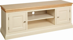 Cassis Painted 2 Door TV Unit