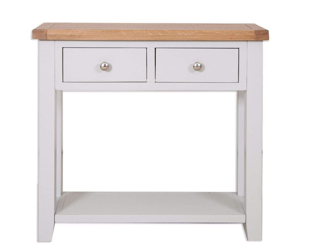Havana French Grey 2 Drawer Console Table