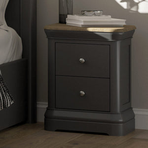 2 Drawer Bedside Cabinet
