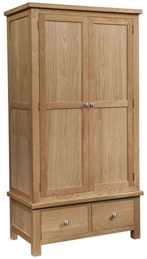 2 Door 2 Drawer Wardrobe - inspired-room.myshopify.com