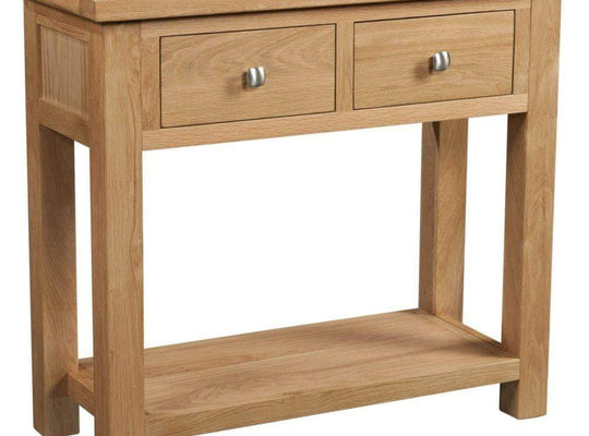 Two Drawer Console Table - Inspired Rooms Furniture Superstore