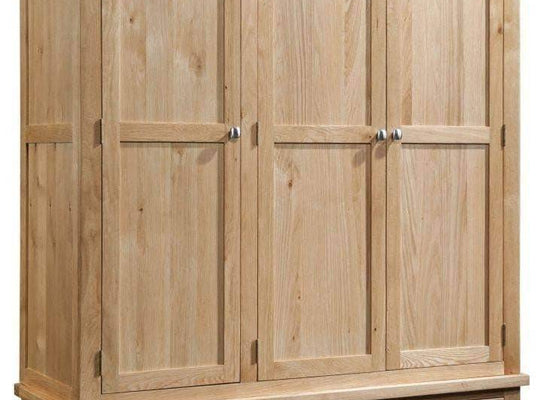 3 Door 3 Drawer Wardrobe - Inspired Rooms Furniture Superstore