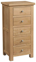 5 Drawer Tall Chest