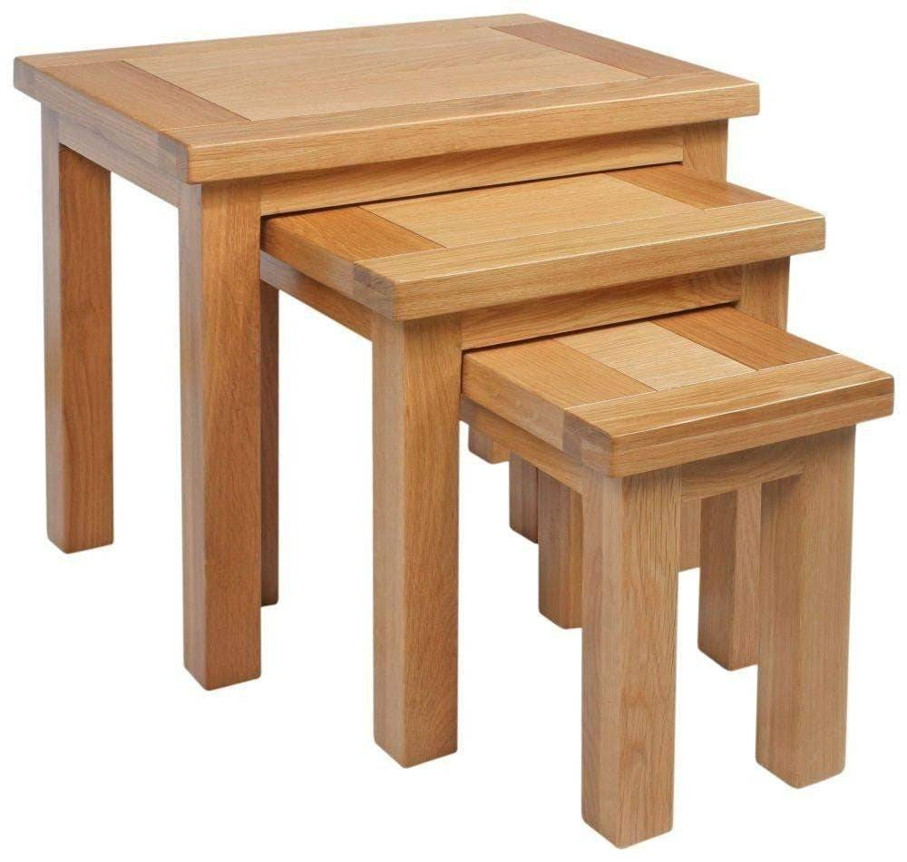 Kingston Oak Nest of Tables