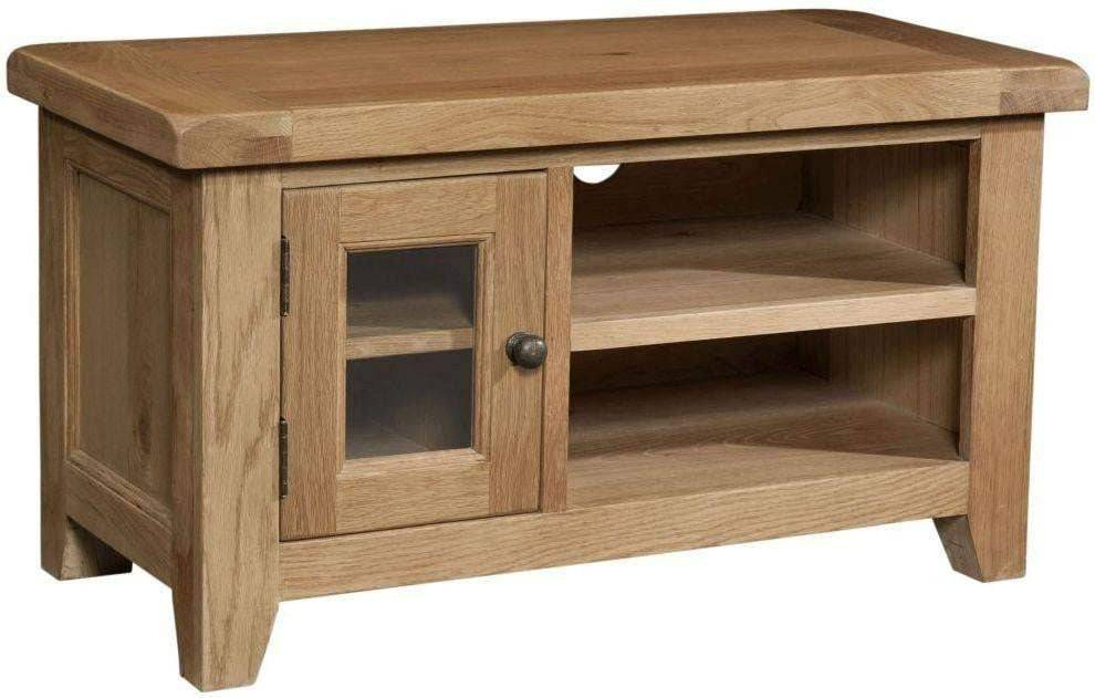 Trafalgar Oak Small TV Unit - Inspired Rooms