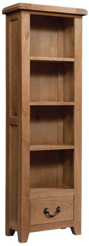 Tall Narrow Bookcase 600 x 1800 - inspired-room.myshopify.com