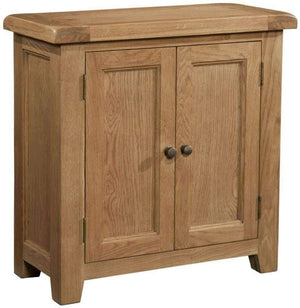 2 Door Cabinet in Trafalgar Oak