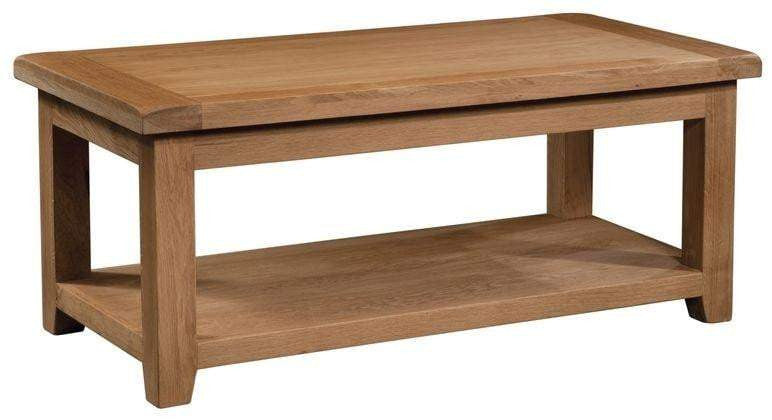 Trafalgar Oak Large Coffee Table