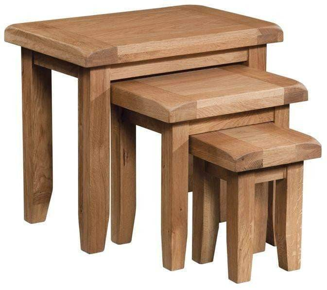 Trafalgar Oak Nest of Tables