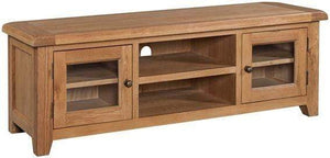Trafalgar Oak Wide Screen TV Unit
