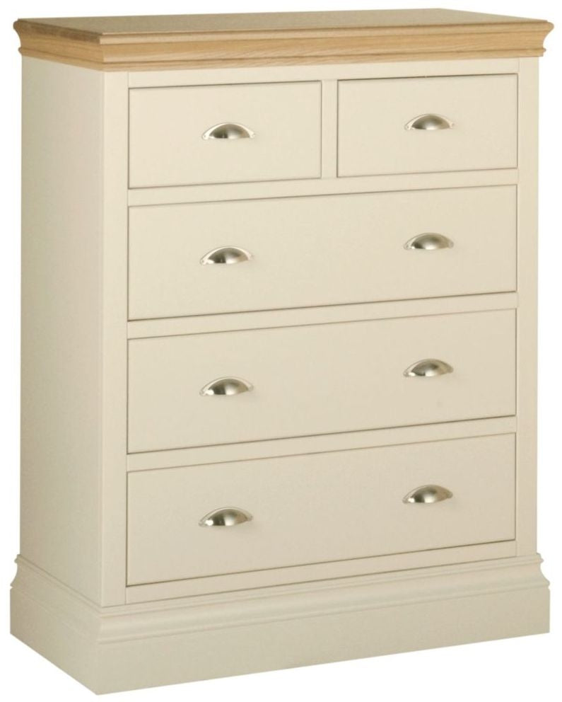 Cassis Painted 3 + 2 Drawer Chest