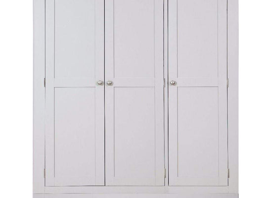 Havana French Grey 3 Door 2 Drawer Wardrobe - Inspired Rooms Furniture Superstore
