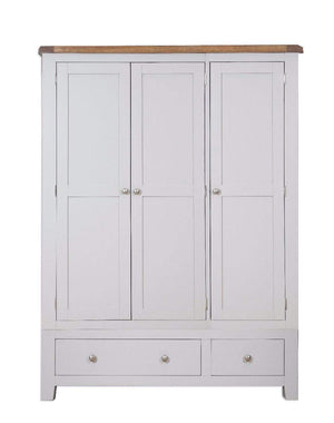 Load image into Gallery viewer, Havana French Grey 3 Door 2 Drawer Wardrobe - inspired-room.myshopify.com