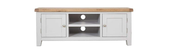 Havana French Grey Plasma TV Cabinet - Inspired Rooms