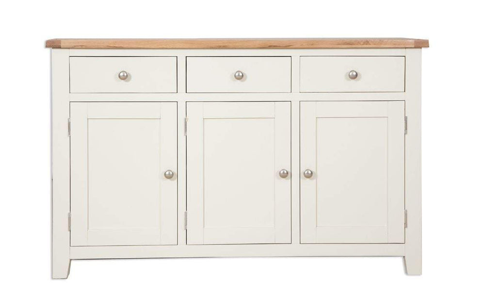 Cream 3 Door Sideboard