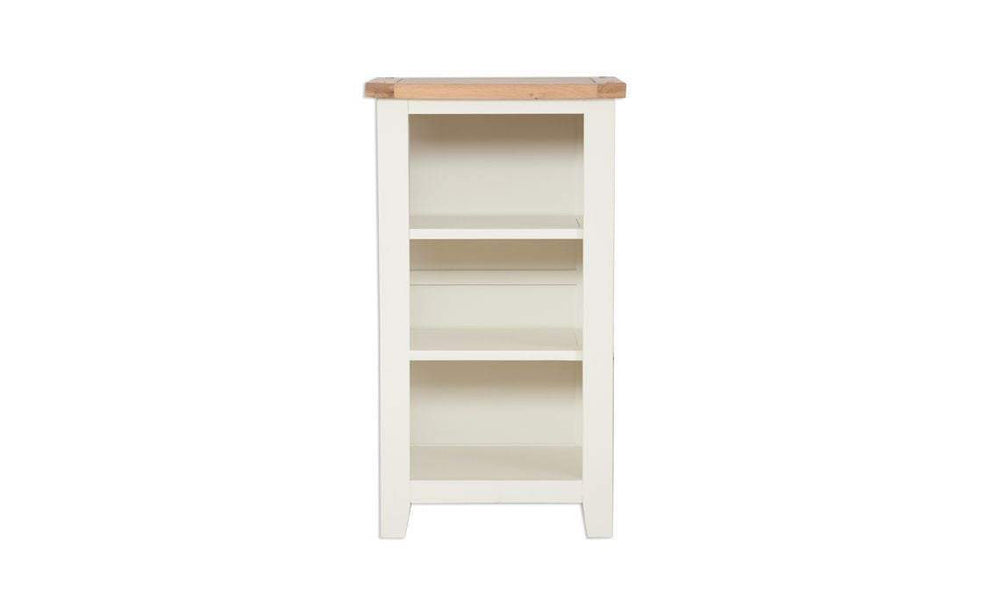 Small Bookcase / DVD Rack in Cream