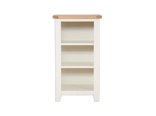 Small Bookcase / DVD Rack in Cream - Inspired Rooms Furniture Superstore