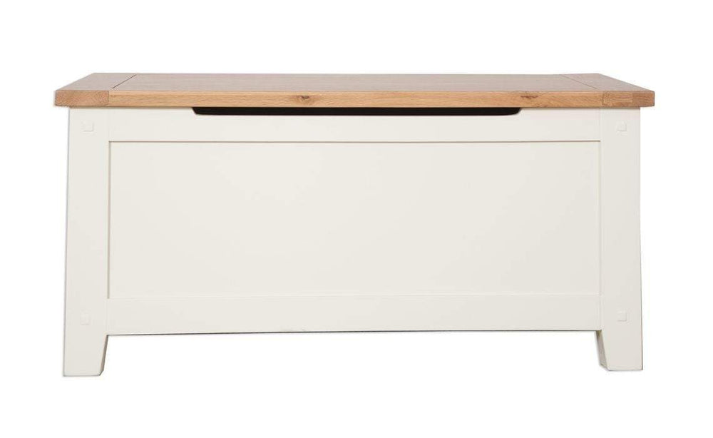 Cream Blanket Box - Inspired Rooms Furniture Superstore
