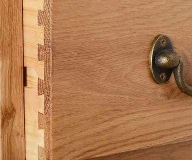 Load image into Gallery viewer, Trafalgar Oak 2 Drawer Filing Cabinet - inspired-room.myshopify.com