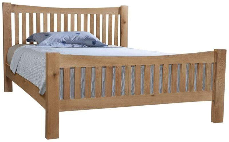 Kingston Oak Bed - Inspired Rooms Furniture Superstore