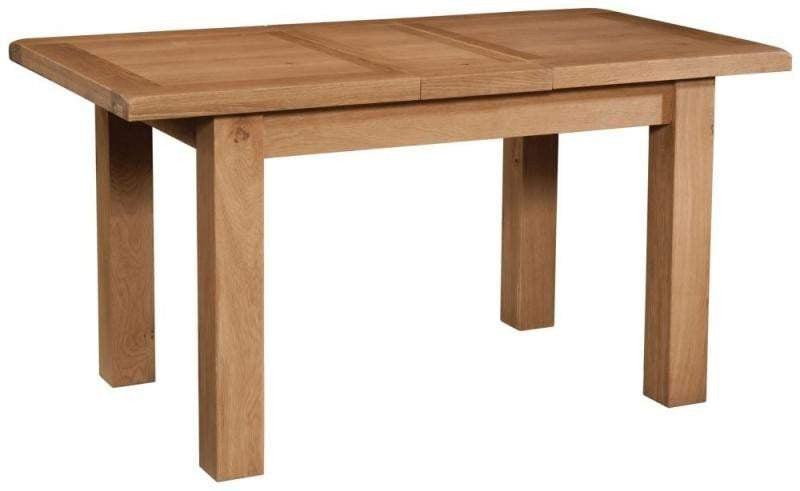 Trafalgar Oak Dining Table with 1 extension - inspired-room.myshopify.com