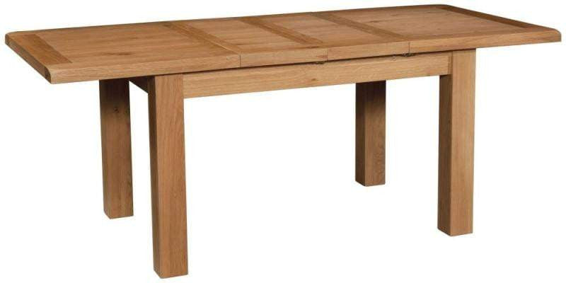Trafalgar Oak Dining Table with 2 extensions 132cm-198cm - inspired-room.myshopify.com