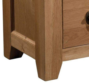 Load image into Gallery viewer, Trafalgar Oak Corner TV Unit - inspired-room.myshopify.com