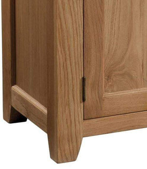 Load image into Gallery viewer, Trafalgar Oak 2 drawer Sideboard - inspired-room.myshopify.com