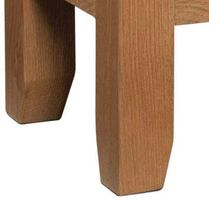 Trafalgar Oak Side Table with Drawer - inspired-room.myshopify.com