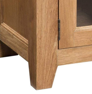 Trafalgar Oak Wide Screen TV Unit - inspired-room.myshopify.com