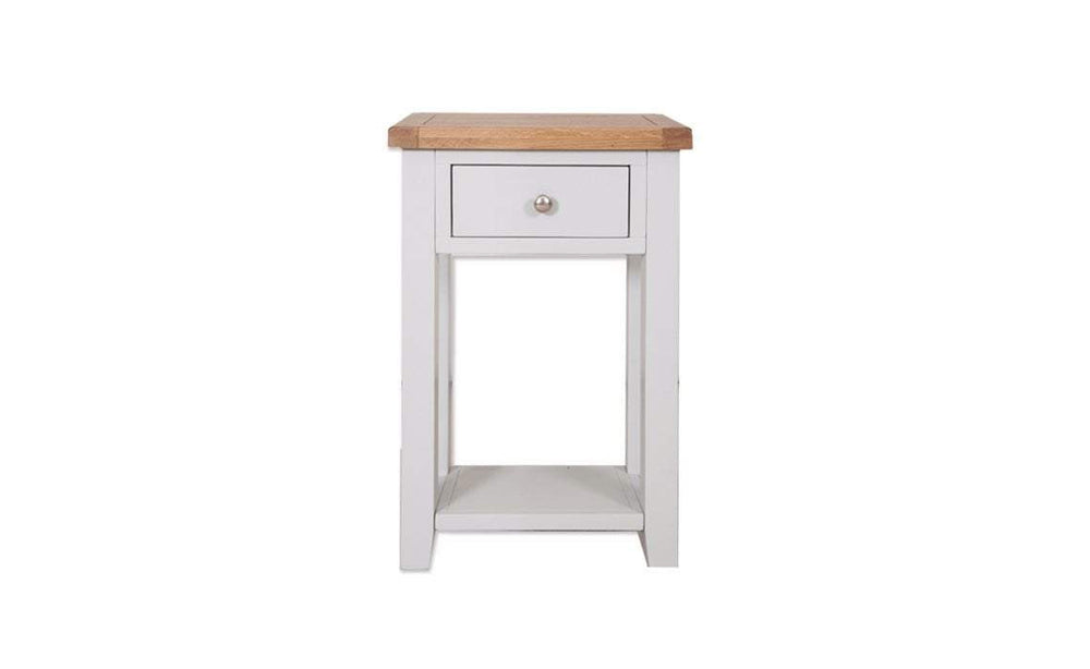 Havana French Grey 1 Drawer Console Table - Inspired Rooms Furniture Superstore