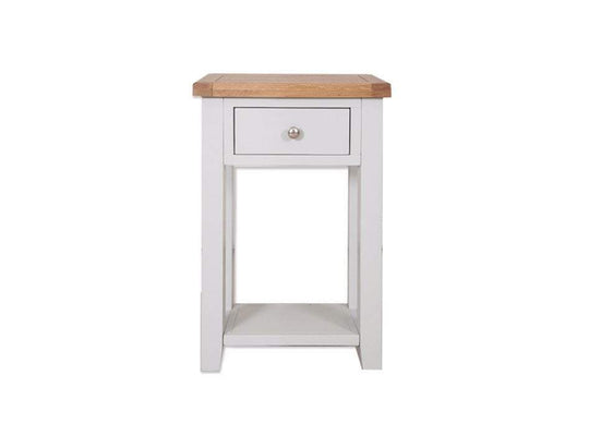 Havana French Grey 1 Drawer Console Table - inspired-room.myshopify.com