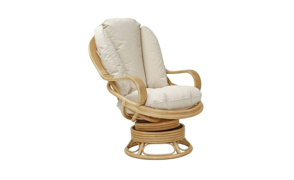 Heathfield Swivel Rocking Chair in Natural Wash - inspired-room.myshopify.com
