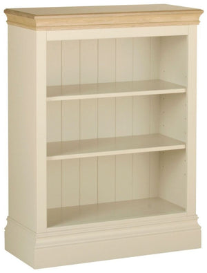 Cassis Painted Low Bookcase