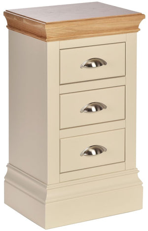 Load image into Gallery viewer, Cassis Painted Compact Bedside Cabinet