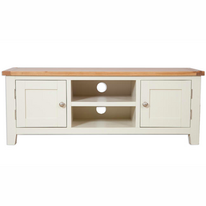 Cream Painted Plasma TV Cabinet